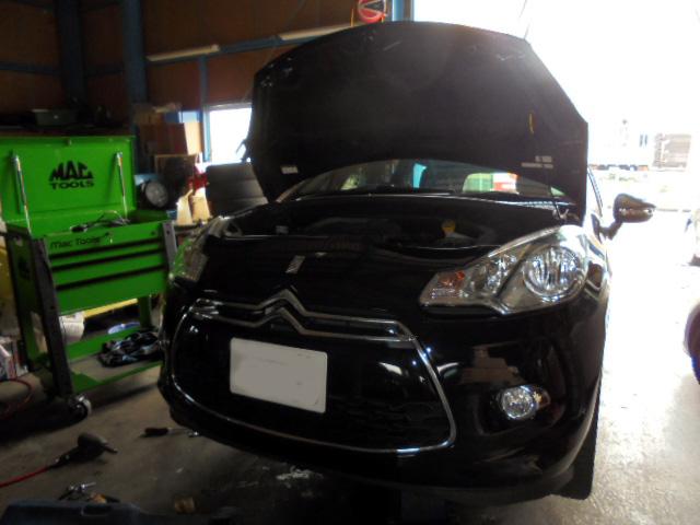 シトロエン DS3 車検整備