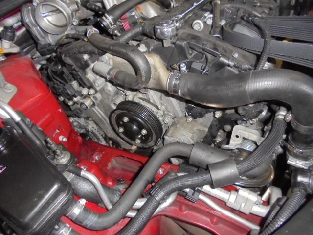 アルファロメオ ブレラ V6 3.2 パワステポンプ交換