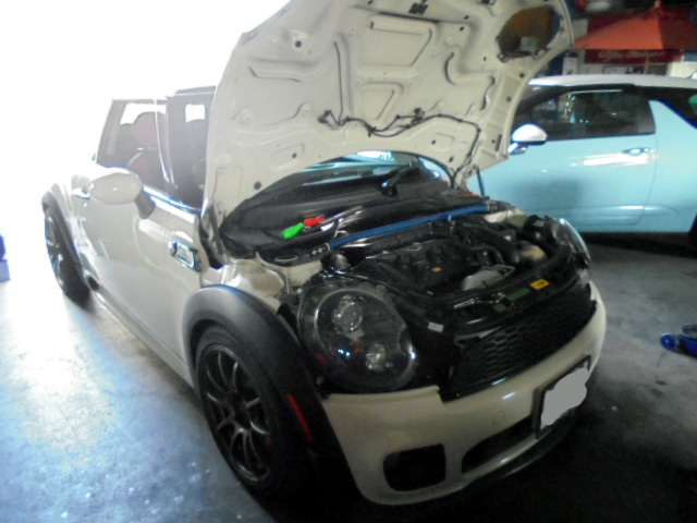BMWミニ JCW RECS&ATF交換