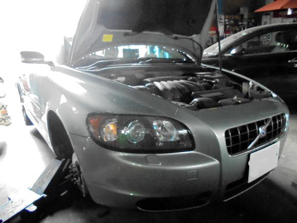 ボルボ C30 ブレーキパッド&ローター交換