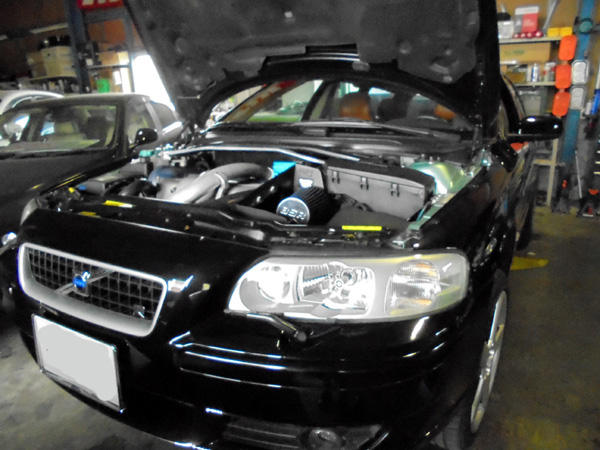 ボルボV70AWDR ラジエーター交換