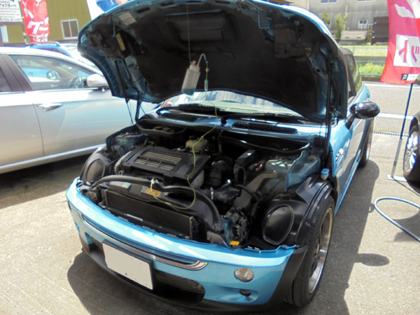 BMWミニ RECS施工