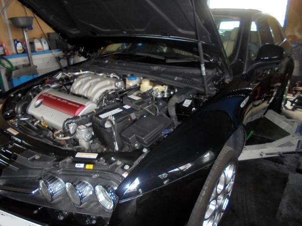 アルファロメオ159SW 車検整備