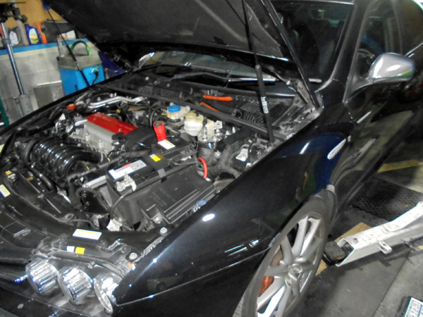 アルファ159Ti 車検整備