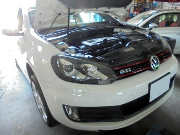 VWゴルフ GTI 車検整備&DSGオイル交換
