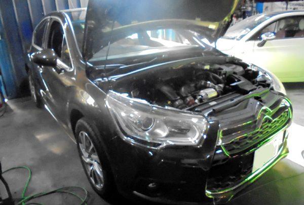シトロエン DS4 エンジンチェックランプ点灯&エンジン不調