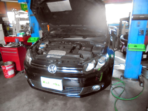 VWゴルフ TSi  DSGオイル交換&エンジンオイル交換
