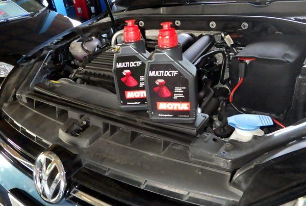 VWゴルフヴァリアント エンジンオイル&DSGオイル交換