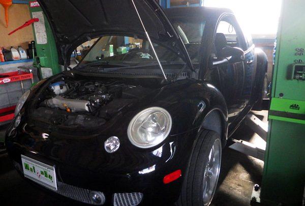 VWニュービートル 車検整備&タイミングベルト交換