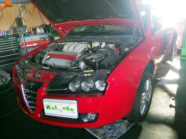 アルファロメオ159SW 変速ショック バルブボディ交換