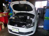 VWポロ 車検整備・ブレーキパッド交換