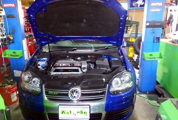 VWゴルフ R32 DSGオイル交換&エンジンオイル交換
