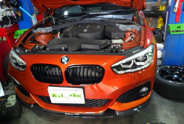 BMW118i ブレーキキャリパー&ローター 交換
