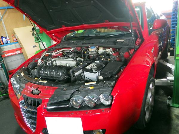 アルファロメオ 159 エンジン不調