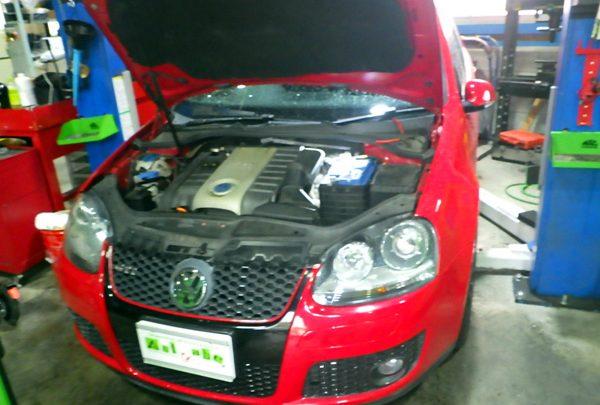 VWゴルフGTi DSGオイル交換&エンジンオイル交換