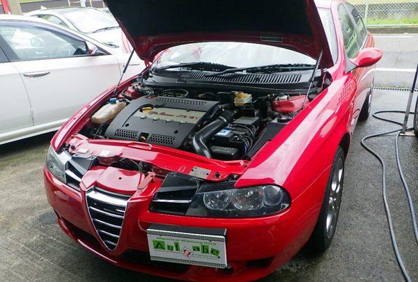 アルファロメオ156 エンジン不調