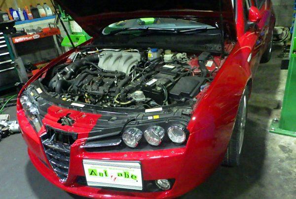 アルファロメオ 159SW エンジン不調