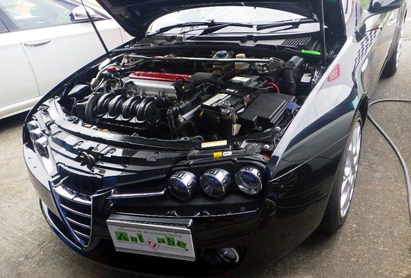 アルファロメオ 159SW クラッチオイル交換&車検整備