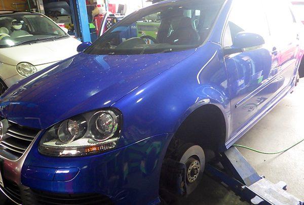 VWゴルフ R32 ブレーキパッド交換