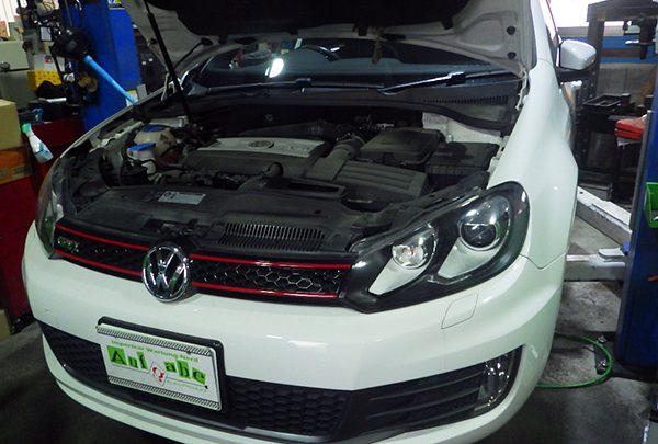 VWゴルフ GTi 車検整備