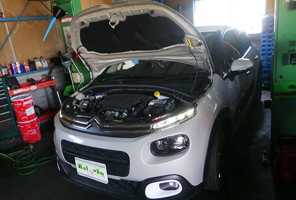 シトロエン C3 車検整備